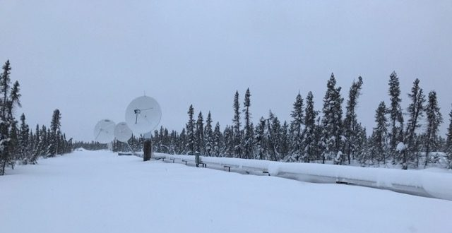 The new commercial ground station built by New North Networks