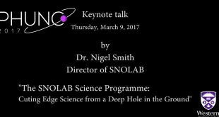 Western University Keynote 2017 Nigel Smith Snowlab