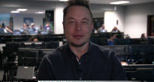 Elon Musk after historic Falcon 9 reused first stage landing.