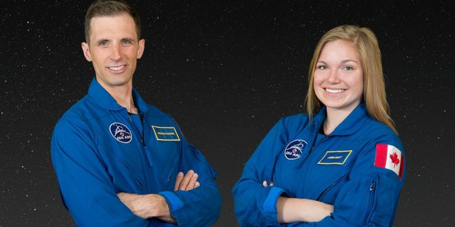 Canada's two newest astronauts are Joshua Kutryk and Jennifer Sidey