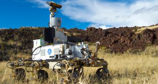 The Canadian Science-Class Rover Prototype, REX, simulates Mars Sample Return