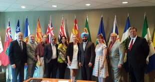 ISED Minister Bains and the Space Advisory Board.