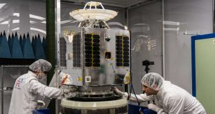 The first Telesat LEO prototype satellite is ready and at the Russian launch complex