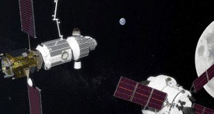 Artist illustration of NASA NASA's Deep Space Gateway concept