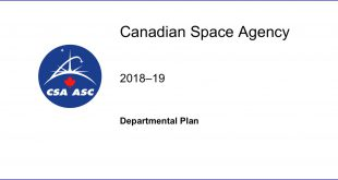 Canadian Space Agency 2018-19 Departmental Plan