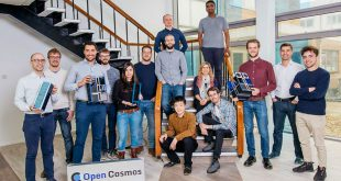 The growing Open Cosmos team