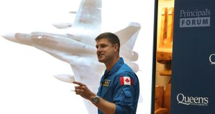 Colonel Jeremy Hansen served as a CF-18 fighter pilot before joining the Canadian Space Agency