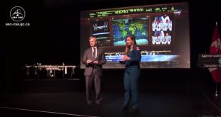 Hosts for the event wereCSA astronaut Jenni Sidey-Gibbons and former astronaut Dr. Robert Thirsk