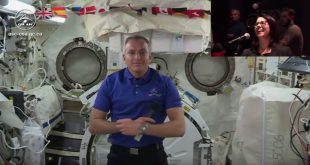 David Saint-Jacques first media interview from space