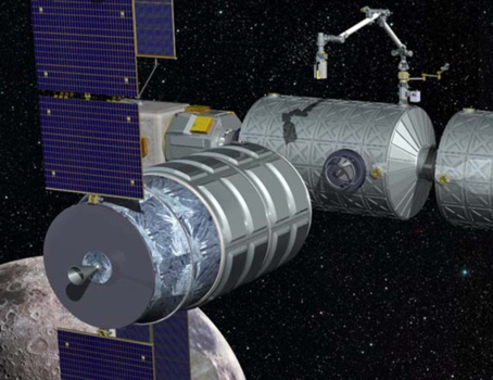 DSXR concept on the Deep Space Gateway