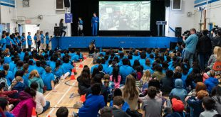 Canadian Astronauts Saint-Jacques and Kutryk Launch Astro Pi Challenge