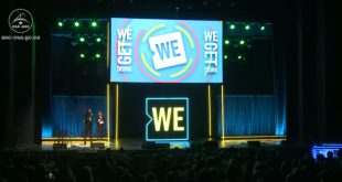 David Saint-Jacques participates in We Day
