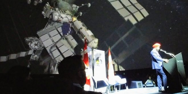 ISED Minister Bains announcing Canada's new Space Strategy