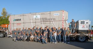 In October of 2018 MDA shipped the final spacecraft of the RADARSAT Constellation Mission to California