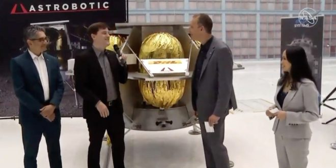 An interview with Astrobotic after being announced as a contract winner by NASA for the Commercial Lunar Payload Services program