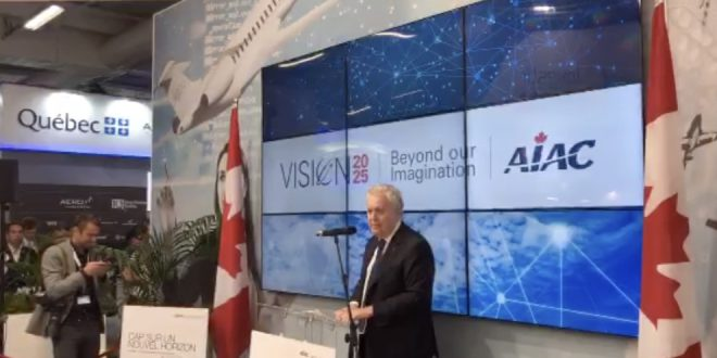 The Honourable Jean Charest, Chair of the AIAC Vision 2025 report discusses the primary points of the report.