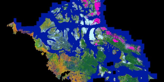 Northern Land Cover of Canada – Circa 2000