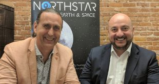 Stewart Bain, CEO of NorthStar Earth & Space (left), and Étienne Schneider, Deputy Prime Minister and Minister of the Economy of Luxembourg