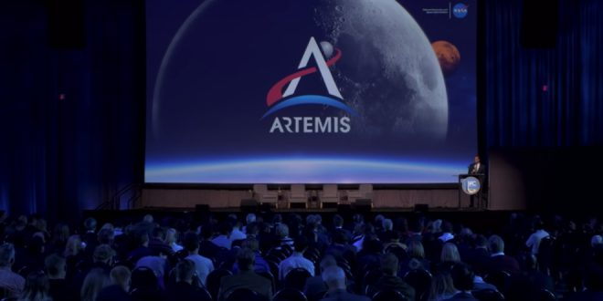 NASA administrator Jim Bridenstine provides an update on the Artemis moon program