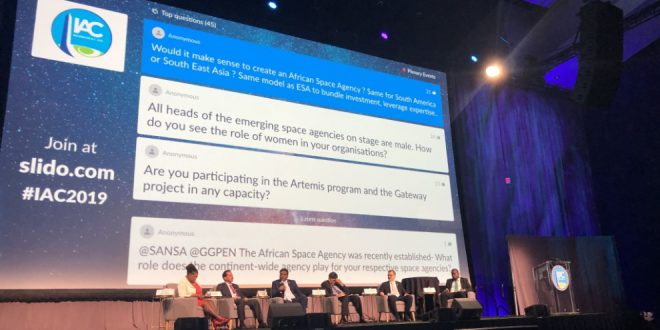 IAC 2019 Heads of Emerging Agencies plenary