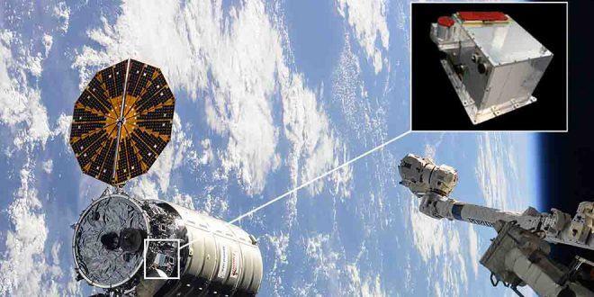 Installed on Cygnus were two of Neptec's TriDAR rendezvous and docking laser systems