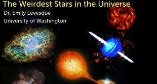 Emily Levesque lecture on weirdest stars at the Perimeter Institute
