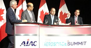 Canadian Aerospace Summit 2018 Executive Panel