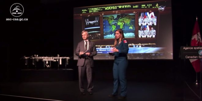 Hosts for the event were CSA astronaut Jenni Sidey-Gibbons and former astronaut Dr. Robert Thirsk