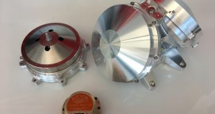 Honeywell Smallsat constellation products - OneWeb Double Reaction Wheel Assembly, single puck Reaction Wheel assembly, Low cost rate sensor
