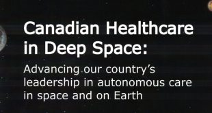 Canadian Healthcare in Deep Space: Advancing our country's leadership in autonomous care in space and on Earth report