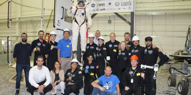 Project PoSSUM Citizen-Scientists Test Commercial Space Suit